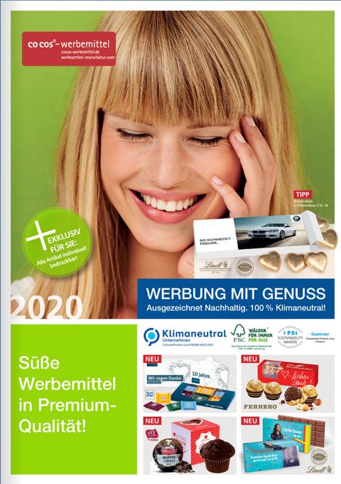 Suesse-Werbemittel-Blaetterkatalogtitel