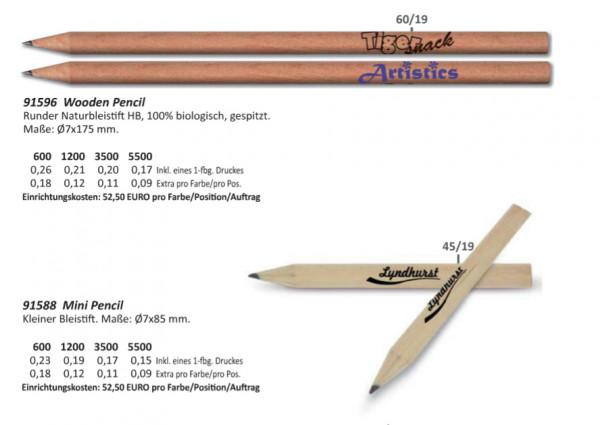 Bleistift-Holz