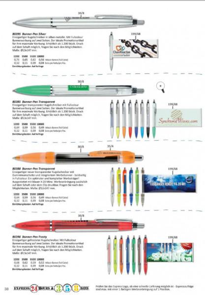 Banner-Pen-Kugelschreiber