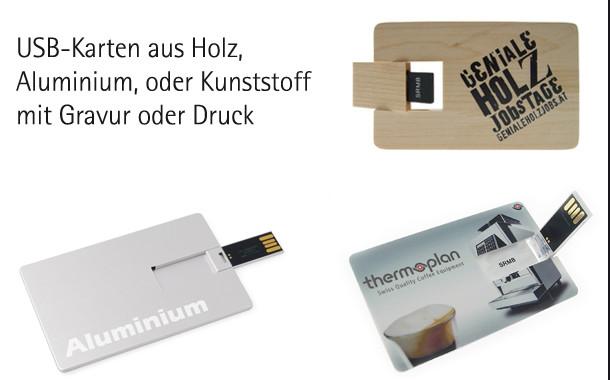USB-Karten, USB-Visitenkarten