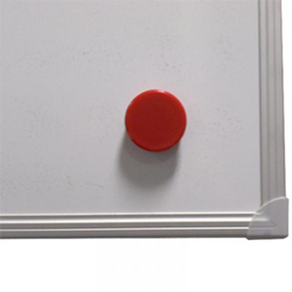 Kraftmagnet - Haftkraft bis 2,5 kg - Ø 38 mm - rot