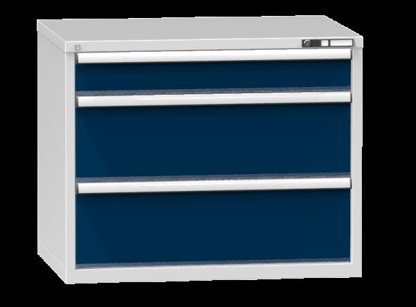 Schubladenschrank - Standcontainer - 1+2 Schublade - 840x1037x753 mm (HxBxT)