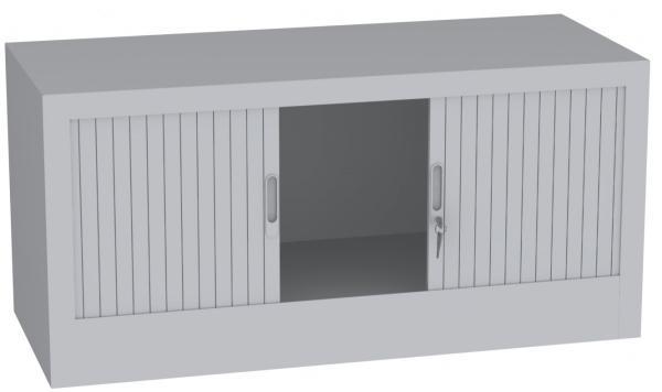 Aufsatzschrank mit Rollladen - 1 Fach - 505x1200x500 mm (HxBxT)