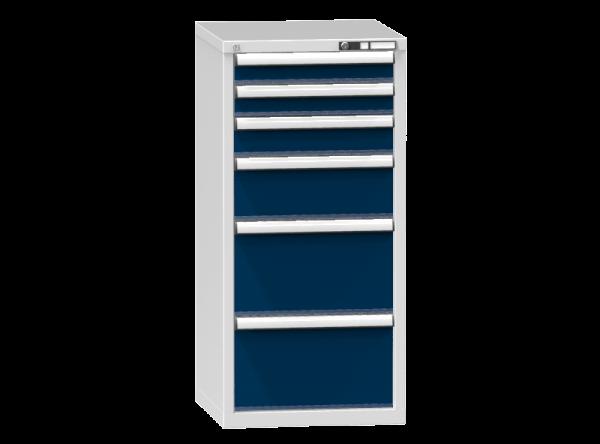 Schubladenschrank - Standcontainer - 2+1+1+2 Schublade - 1215x578x600 mm (HxBxT)
