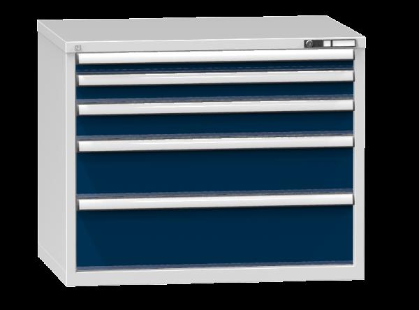 Schubladenschrank - Standcontainer - 1+1+1+1+1 Schublade - 840x1037x753 mm (HxBxT)