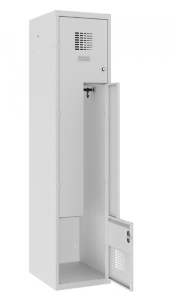 Z-Spind, Garderobenschrank - 1 Abteil - 2 Fächer - 1800x400x500 mm (HxBxT)