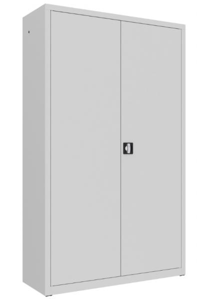 Büroschrank mit Flügeltüren - 4 Einlegeböden- 1990x1200x435 cm (HxBxT)