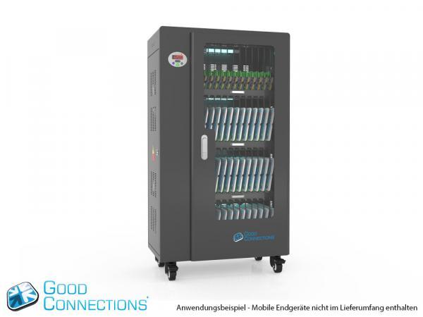 Tablet-Ladewagen für bis zu 52 Geräte - inkl. UV-C Desinfektion, Smart Control, Synchronisierung