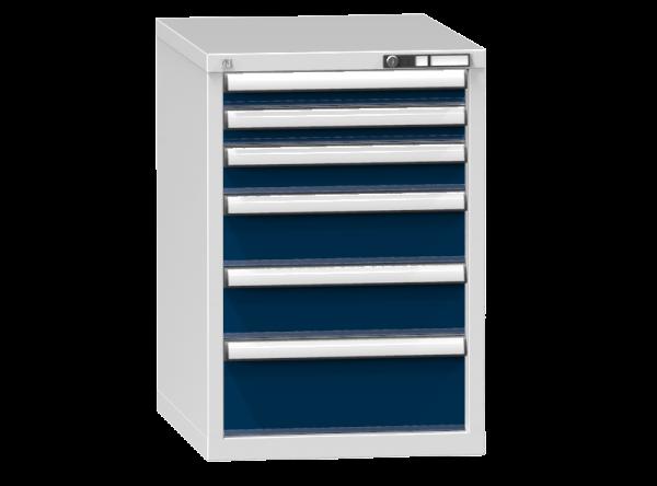 Schubladenschrank - Standcontainer - 2+1+2+1 Schublade - 840x578x753 mm (HxBxT)