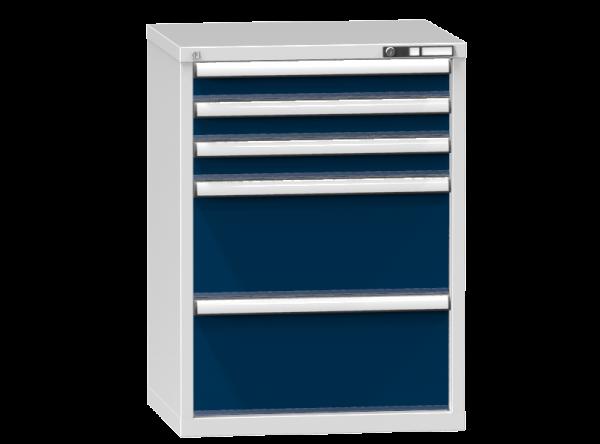 Schubladenschrank - Standcontainer - 3+2 Schublade - 990x731x600 mm (HxBxT)