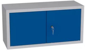 Spind, Hängeschrank, Schrankaufsatz, Würfel - 400x800x400 mm (HxBxT)