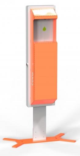 Ständer für Desinfektionsspender Automatik - COVLp.smart