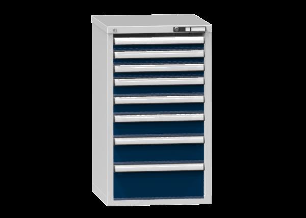 Schubladenschrank - Standcontainer - 3+2+1+1+1 Schublade - 990x578x600 mm (HxBxT)