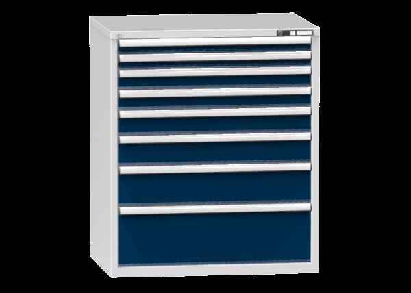 Schubladenschrank - Standcontainer - 2+2+1+1+1+1 Schublade - 1215x1037x753 mm (HxBxT)