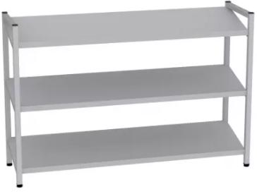 Schuhregal - 3 Böden - 800x1200x350 mm (HxBxT)