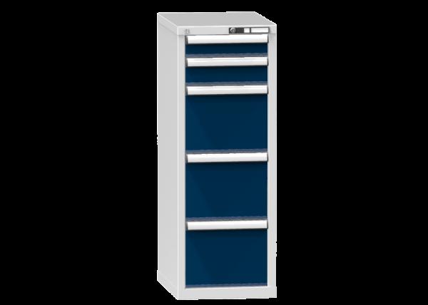 Schubladenschrank - Standcontainer - 1+1+3 Schublade - 1215x442x600 mm (HxBxT)