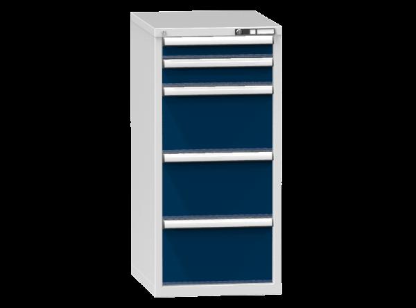 Schubladenschrank - Standcontainer - 1+1+3 Schublade - 1215x578x753 mm (HxBxT)
