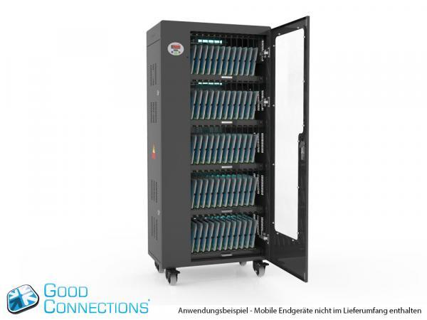 Tablet-Ladewagen für bis zu 60 Geräte - inkl. UV-C Desinfektion und Smart Control