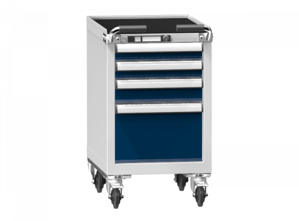 Mobile Container - Rollcontainer - 2+1+1 Schublade- 785x442x600 mm (HxBxT)