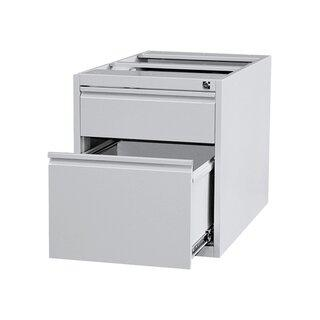 Unterbaucontainer - 1 Schublade + 1 Hängeregistratur - 535x460x790 mm (HxBxT) - zu 310120 + 310160