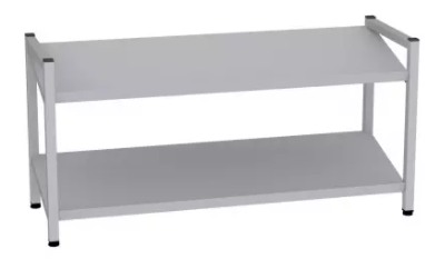Schuhregal - 2 Böden - 490x1000x350 mm (HxBxT)