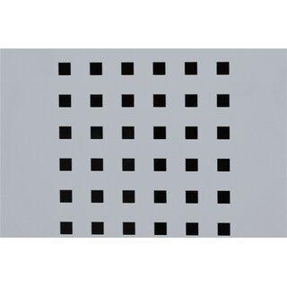 Aufpreis für Version 1 Türe mit Quadratlochung (Abteilbreite 300 und 400 mm)