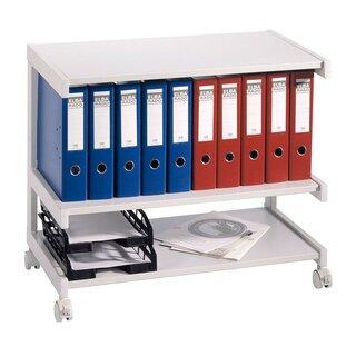 Bürowagen, 3 Ebenen, 670x810x430 mm (HxBxT)