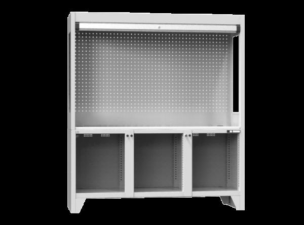 Prüfarbeitsplatz - MS - KORPUS - 2030x1800x800 mm (HxBxT)