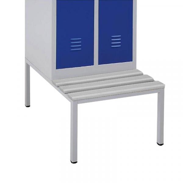 Sitzbankuntergestell mit PVC-Latten - verschiedene Größen