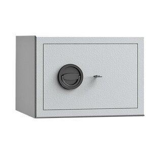 Möbeltresor - Sicherheitsstufe B - Einbruchschutz S2 - 300 x 420 x 380 mm - lichtgrau