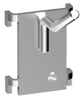 Einhängeprogramm YB1 - einfacher Haken - 25 + 35 mm
