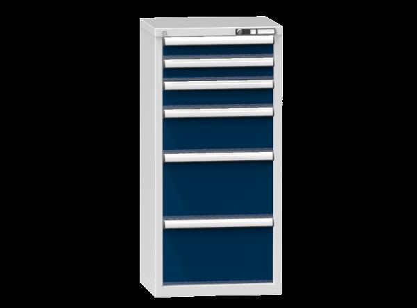 Schubladenschrank - Standcontainer - 2+1+1+2 Schublade - 1215x578x464 mm (HxBxT)