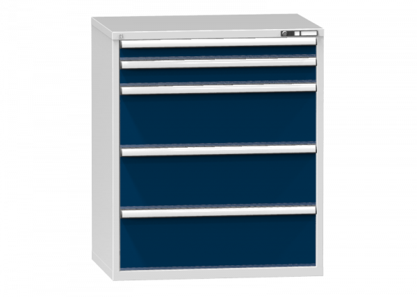 Schubladenschrank - Standcontainer - 1+1+3 Schublade - 1215x1037x753 mm (HxBxT)