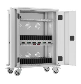 WNT-Wagen für 32 Tablets / 1 Laptop - WiFi - LG - 1050x730x440 mm (HxBxT)