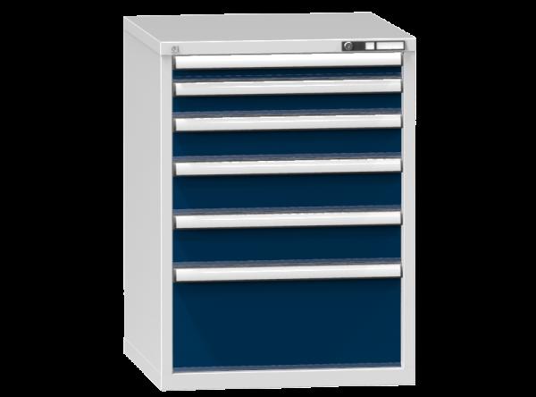 Schubladenschrank - Standcontainer - 1+1+1+2+1 Schublade - 990x731x753 mm (HxBxT)