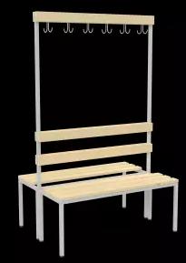 Sitzbank freistehend - in 2 Breiten - 1000mm oder 1500 mm - erhältlich