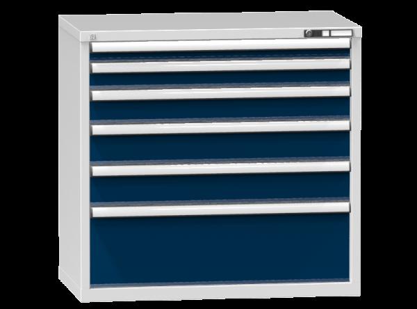 Schubladenschrank - Standcontainer - 1+1+1+2+1 Schublade - 990x1037x600 mm (HxBxT)