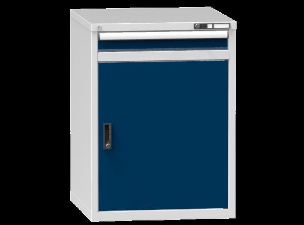 Schubladenschrank - Standcontainer -1 Schublade, 1x Tür 800 mm - 990x731x753 mm (HxBxT)