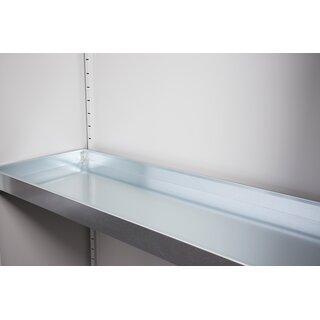 Wannenboden für 56624x - 50/100 mm - Seitenaufkantung - verzinkt