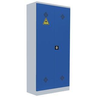 Umweltschrank - 2 Türen - 4 Wannenböden - 1950x916x422 mm (HxBxT)