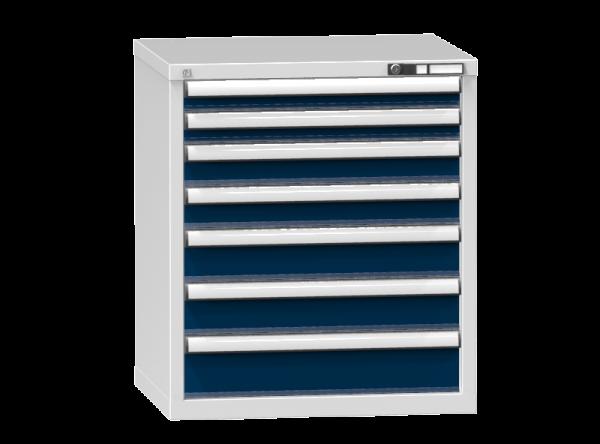 Schubladenschrank - Standcontainer - 2+2+2+1 Schublade - 840x731x600 mm (HxBxT)
