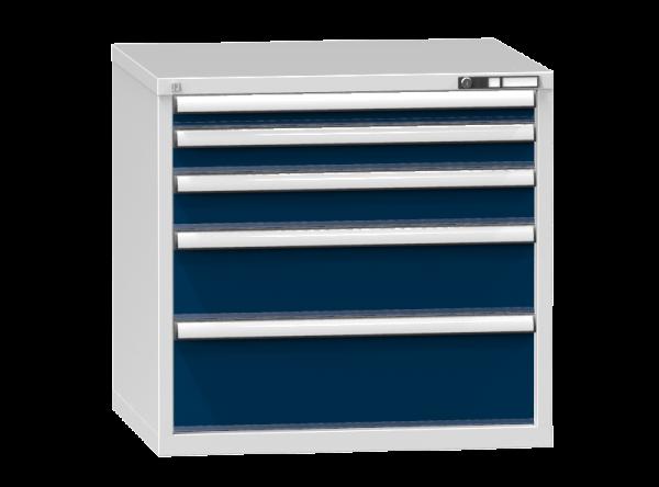 Schubladenschrank - Standcontainer - 1+1+1+1+1 Schublade - 840x884x753 mm (HxBxT)