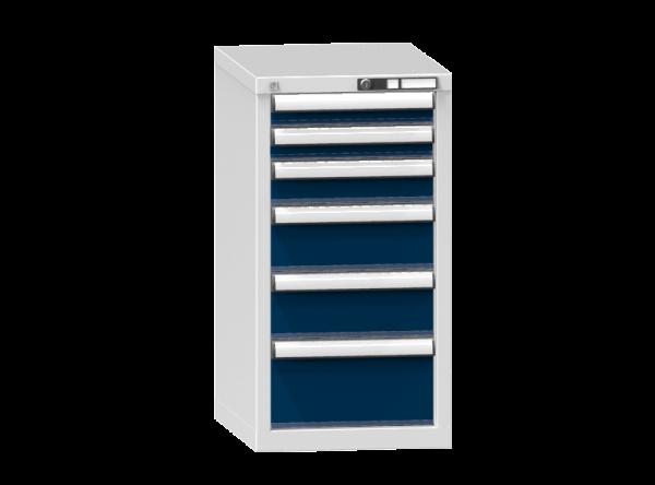 Schubladenschrank - Standcontainer - 2+1+2+1 Schublade - 840x442x600 mm (HxBxT)