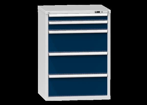 Schubladenschrank - Standcontainer - 1+1+3 Schublade - 1215x884x753 mm (HxBxT)