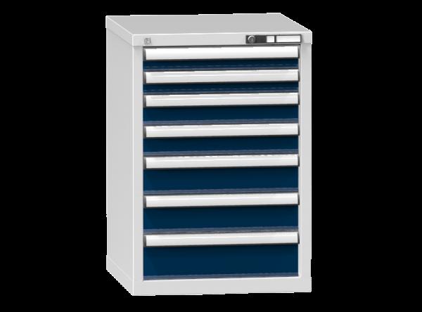 Schubladenschrank - Standcontainer - 2+2+2+1 Schublade - 840x578x600 mm (HxBxT)