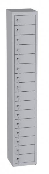 Wertfachschrank stehend - 1 Abteil - 16 Fächer - 1950x320x300 mm (HxBxT)