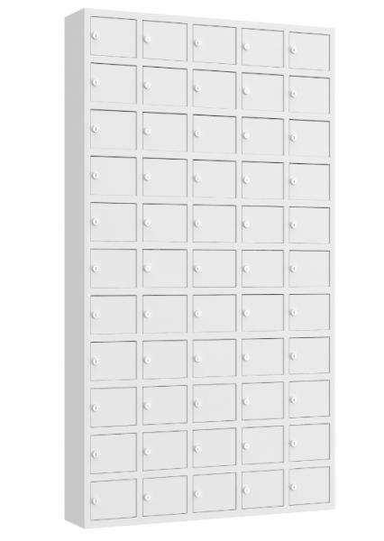 Wertfachschrank mini - stehend oder hängend - 5 Abteile - 55 Fächer - 1680x930x200 mm (HxBxT)