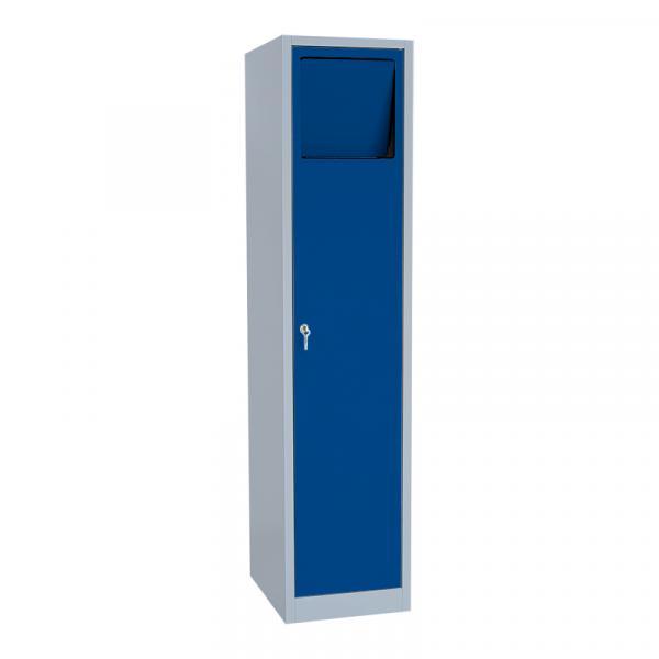 Wäschesammelschrank - 1 Abteil - mit Einwurfklappe - 1800x600x500 mm (HxBxT)