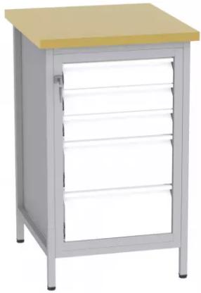 Bohrmaschinentisch - 2 + 3 Schubladen 880x550x600 mm (HxBxT)