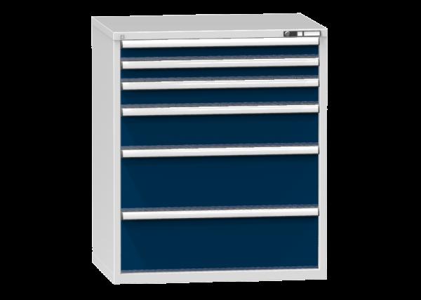 Schubladenschrank - Standcontainer - 2+1+1+2 Schublade - 1215x1037x753 mm (HxBxT)